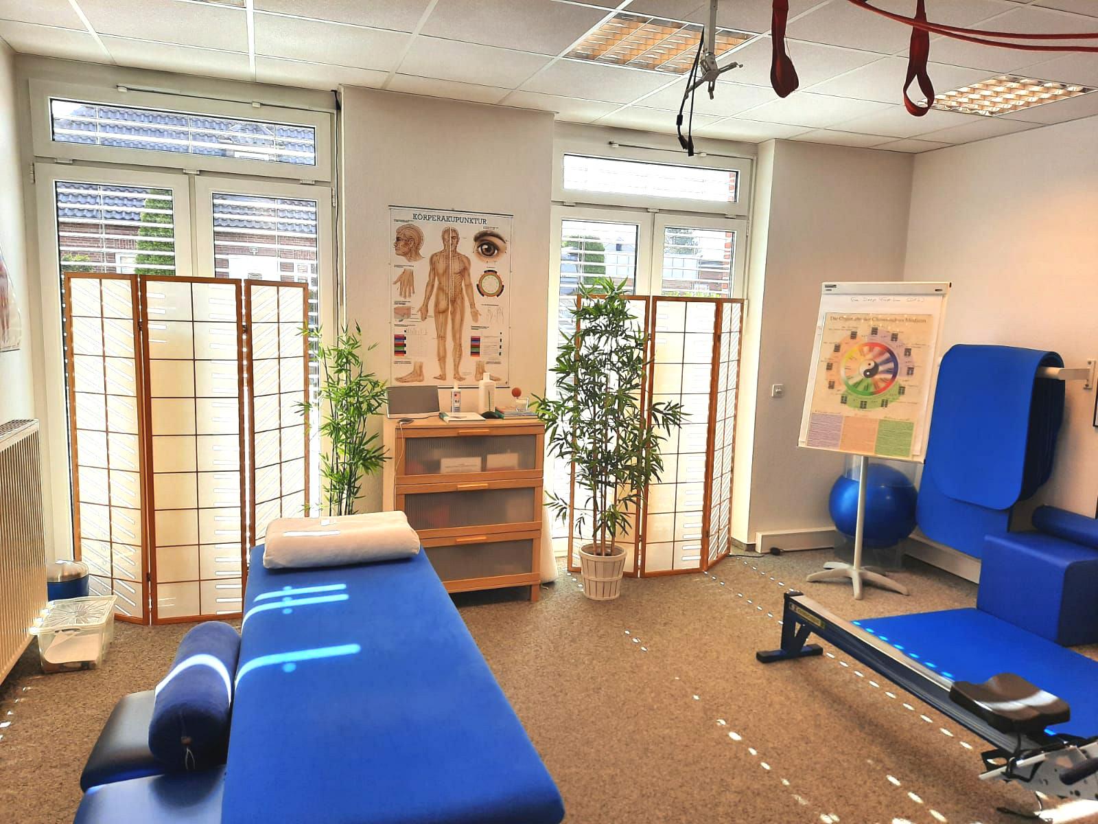 Praxis Seebeck & Ortmann - Behandlungsraum